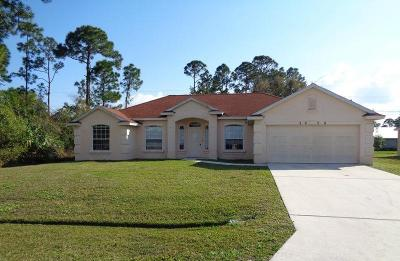 Port Saint Lucie Single Family Home Contingent: 2038 SW Kimberly Avenue