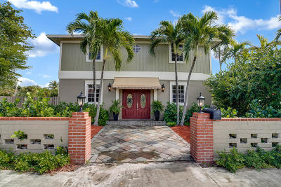 Lake Worth Single Family Home For Sale: 824 Lakeside Drive