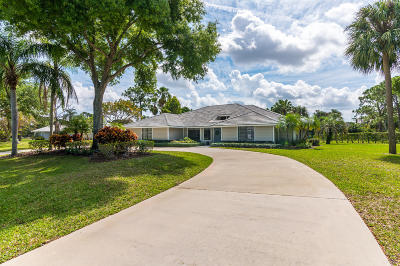 Palm Beach Gardens Single Family Home For Sale: 5270 Desert Vixen Road