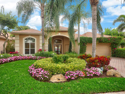Palm Beach Gardens Single Family Home For Sale: 120 Vintage Isle