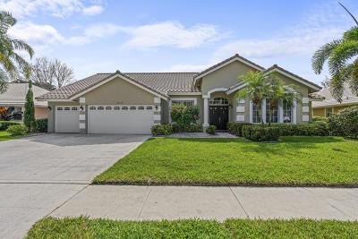 Wellington Single Family Home For Sale: 2365 Stonegate Drive