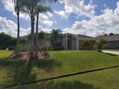 Port Saint Lucie Single Family Home For Sale: 1250 SW Marmore Avenue