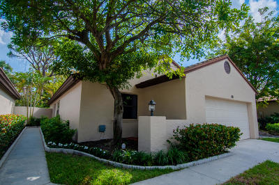 Palm Beach Gardens Single Family Home For Sale: 80 Ironwood Way