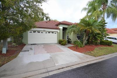 Palm Beach Gardens Single Family Home For Sale: 3115 Contego Lane