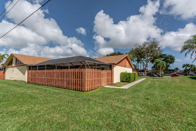 West Palm Beach Single Family Home For Sale: 1131 Summit Place Circle B