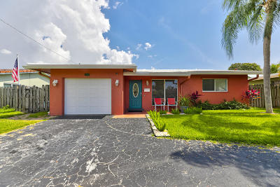 Pompano Beach Single Family Home For Sale: 1321 SE 2nd Street