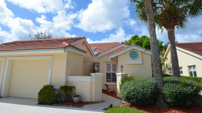 Palm City Single Family Home Contingent: 3694 SW Whispering Sound Drive