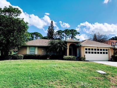 Port Saint Lucie Single Family Home For Sale: 1241 SW Bayshore Boulevard