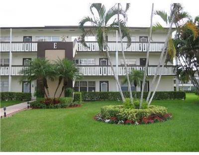 Boca Raton Condo For Sale: 181 Suffolk #181 E