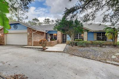 Palm Beach Gardens Single Family Home For Sale: 13889 Deer Creek Drive