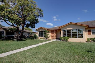 Delray Beach Single Family Home For Sale: 14532 Canalview Drive #A