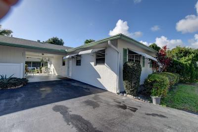Delray Beach Single Family Home For Sale: 852 Meadowlark Lane