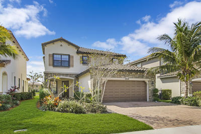 Lake Worth, Lakeworth Single Family Home For Sale: 8858 Willow Cove Lane