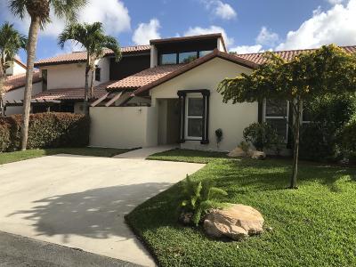 Boca Raton Single Family Home For Sale: 6640 Tiburon Circle
