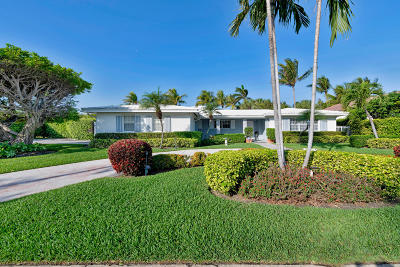 Palm Beach Single Family Home For Sale: 2263 Ibis Isle Road E