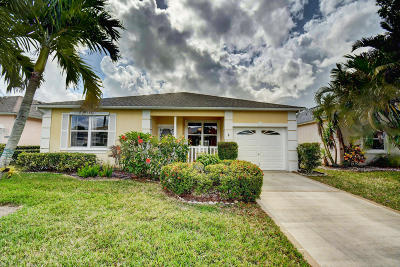 Port Saint Lucie Single Family Home For Sale: 515 NW Galatone Court