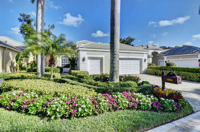 Delray Beach Single Family Home For Sale: 16064 Villa Vizcaya Place