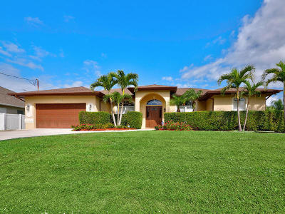 Port Saint Lucie Single Family Home For Sale: 6451 NW Polly Court