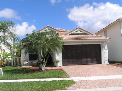 West Palm Beach Single Family Home For Sale: 436 Belle Grove Lane