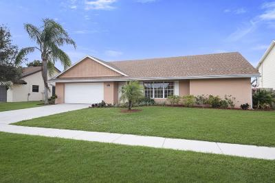 Lake Worth Single Family Home For Sale: 8285 Blue Cypress Drive