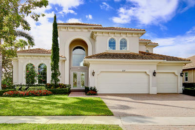 Jupiter FL Single Family Home For Sale: $1,295,000