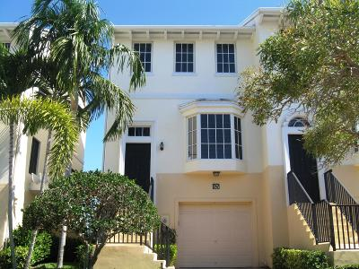 Juno Beach Townhouse For Sale: 425 Juno Dunes Way