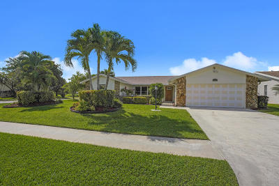 Lake Worth Single Family Home For Sale: 5641 Adair Way