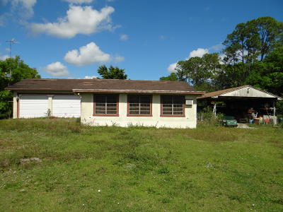 Martin County Single Family Home For Sale: 5057 SW Cherokee Street