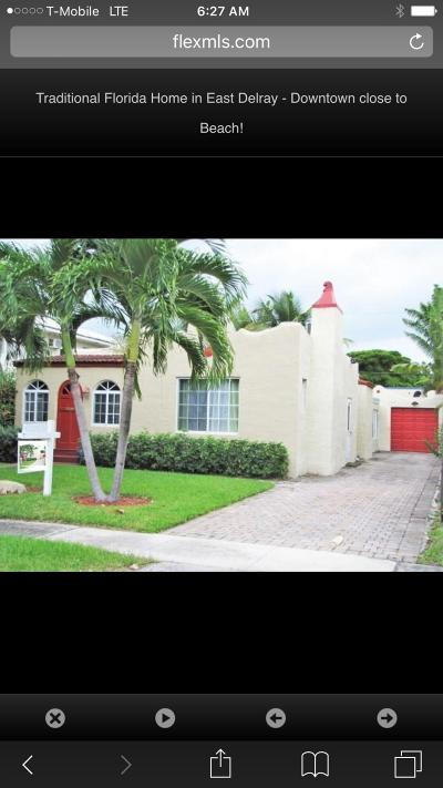 Delray Beach Single Family Home For Sale: 430 NE 7th Avenue