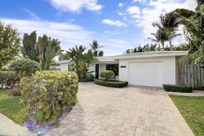 West Palm Beach Single Family Home For Sale: 314 Avila Road