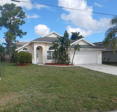 Jupiter FL Single Family Home For Sale: $344,900