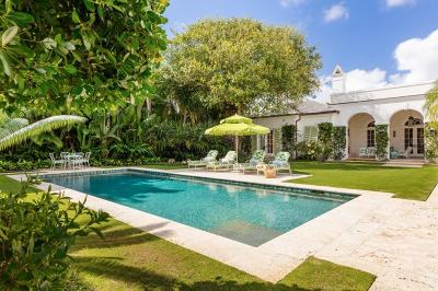 Palm Beach Single Family Home For Sale: 324 Garden Road