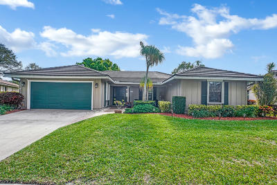 Boca Raton Single Family Home For Sale: 3474 Pine Haven Circle