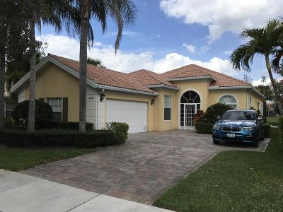 Palm Beach Gardens Single Family Home For Sale: 4705 Dovehill Drive