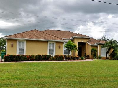 Port Saint Lucie Single Family Home For Sale: 1638 SW Mackenzie Street