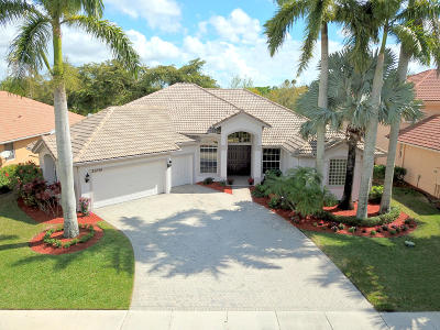 Boca Raton Single Family Home For Sale: 21230 Falls Ridge Way