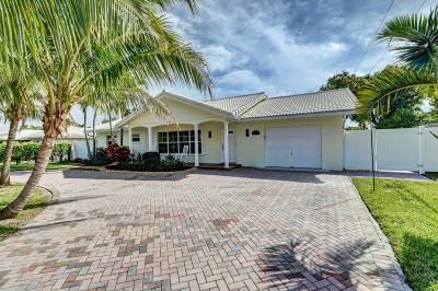 Boca Raton Single Family Home For Sale: 2082 Bonnie Street