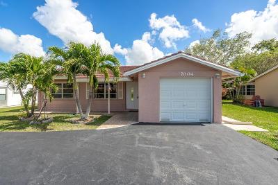 Tamarac Single Family Home For Sale: 7004 NW 95th Terrace