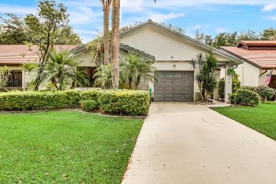 Boynton Beach Single Family Home Contingent: 4696 Boxwood Circle