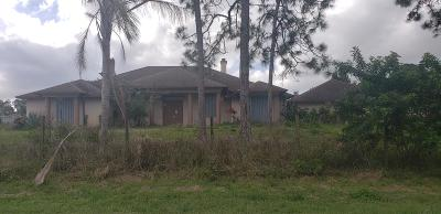 Loxahatchee Single Family Home For Sale: 15134 66th Court