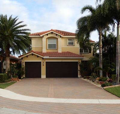 Boynton Beach Single Family Home For Sale: 8275 Triana Point Avenue