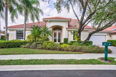 Palm Beach Gardens FL Single Family Home For Sale: $624,000