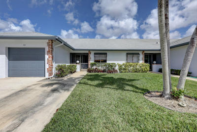 Jupiter Townhouse For Sale: 180 Moccasin Trail
