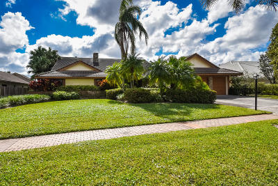 Boca Raton Single Family Home For Sale: 17747 Foxborough Lane
