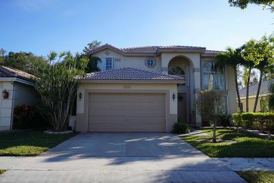 Coconut Creek Single Family Home For Sale: 5532 Lake Tern Court