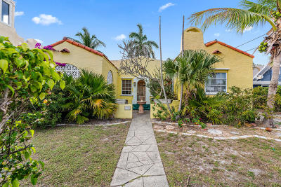West Palm Beach Single Family Home For Sale: 709 Hunter Street