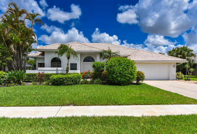 Single Family Home For Sale: 11128 Boca Woods Lane