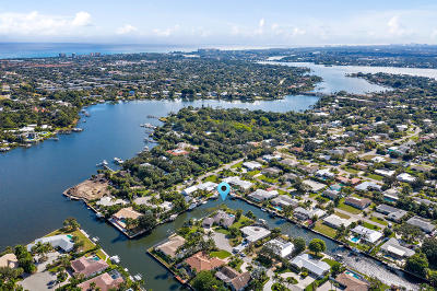 Tequesta Single Family Home Contingent: 28 Leeward Circle