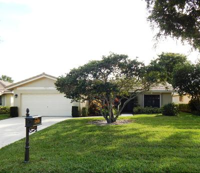 Boca Raton Single Family Home For Sale: 5868 Colony Court
