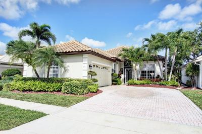 Delray Beach Single Family Home For Sale: 7743 Doubleton Drive